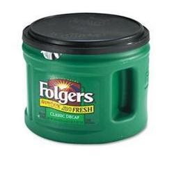 Folgers Ground Classic Roast Decaffeinated