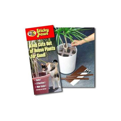 Sticky Paws for Houseplants, (1
