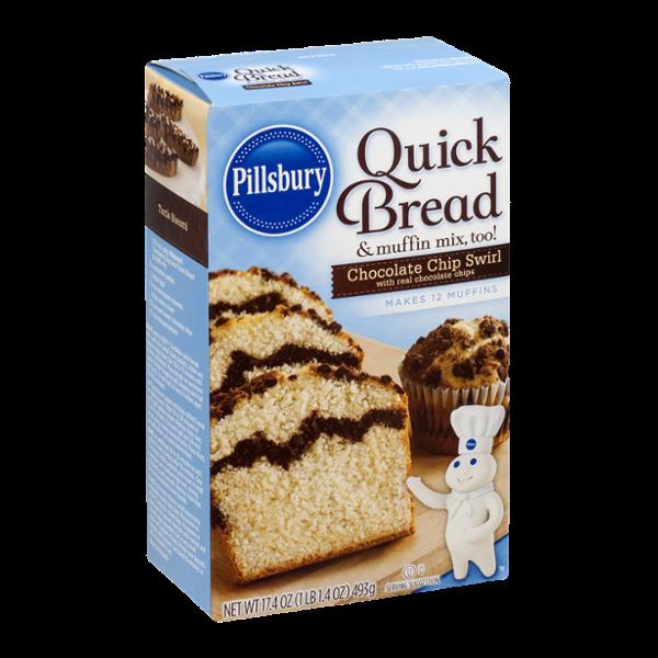 Pillsbury Quick Bread Chocolate Chip Swirl