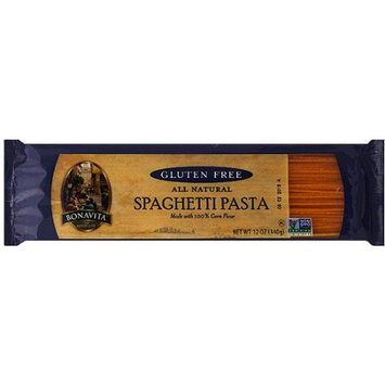Bonavita Gluten Free All Natural Spaghetti Pasta, 12 oz, (Pack of 12)