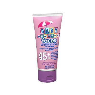 Baby Blanket Faces Sunblock Lotion for Babies SPF 45