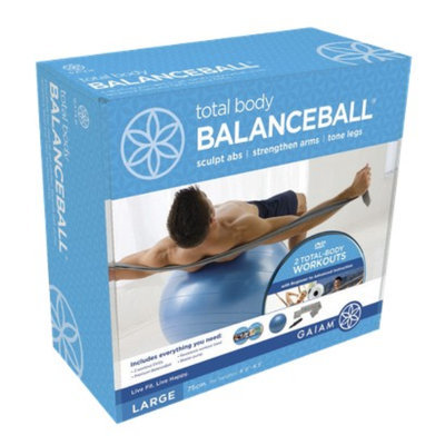Gaiam Balance Balls Total Body Balance Ball Kit