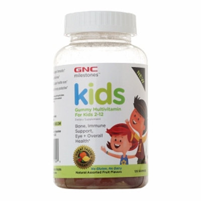 GNC Milestones Kids Gummy Multivitamin for Kids 2-12