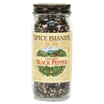 Spice Islands Pepper, Black Cracked, 2.3-Ounce (Pack of 3)