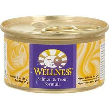 Wellness Adult Salmon and Trout Canned Cat Food