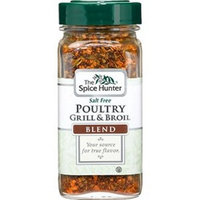 The Spice Hunter Poultry Grill and Broil, No Salt, 2.2-Ounce Jars (Pack of 6)