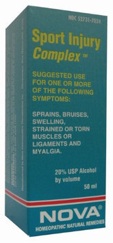 Nova Homeopathic Sport Injury Complex 1.7 OZ