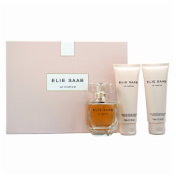 Elie Saab Le Parfum Eau de Parfum Gift Set for Women, 3 Piece, 1 set