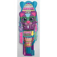 Yo-Yo2015 YoYo Lipgloss Cat Animal Hipsters with Retractable Clip on Lip Gloss for Adults and Children