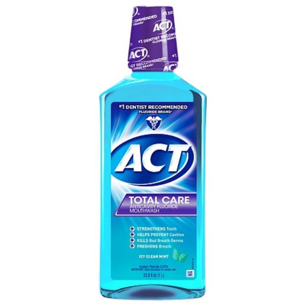 ACT Restoring Anticavity Fluoride Mouthwash Mint