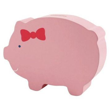 Pearhead Wooden Piggy Bank