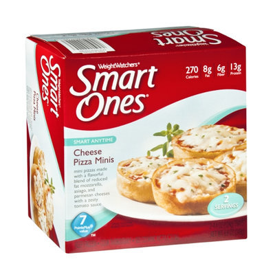 WeightWatchers Smart Ones Cheese Pizza Minis - 2 CT