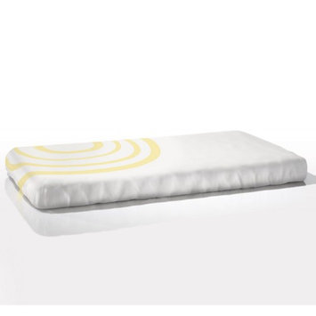Nook Sleep Systems FIT-RPL-DAF Fitted Crib Sheet in Ripple Daffodil (Light Yellow)