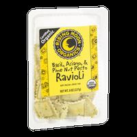 Rising Moon Organics Ravioli Basil, Asiago & Pine Nut Pesto