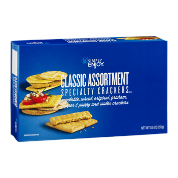Simply Enjoy Classic Assortment Specialty Crackers