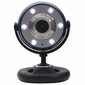 Gear Head WCF2600HDBLU-CP10 Quick 5. 0 MP WebCam HD Blue