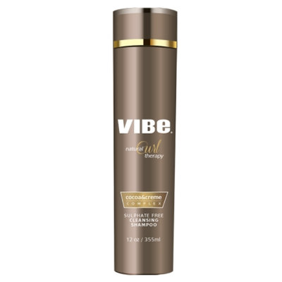 Vibe Beauty Natural Curl Therapy Sulphate Free Cleansing Shampoo, 12 fl oz