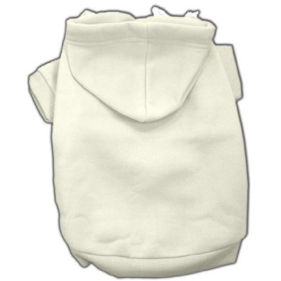 Mirage Dog Supplies Blank Hoodies Cream S (10)