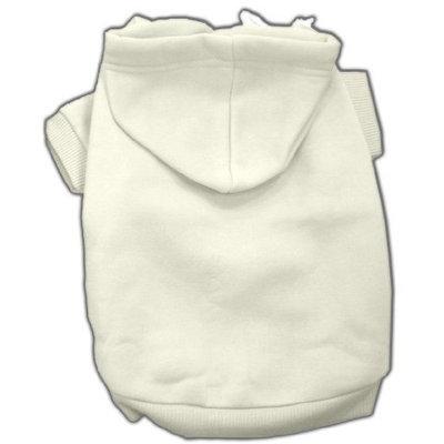 Mirage Dog Supplies Blank Hoodies Cream S (10)