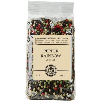India Tree Pepper Rainbow, 1 lb (Pack of 2)