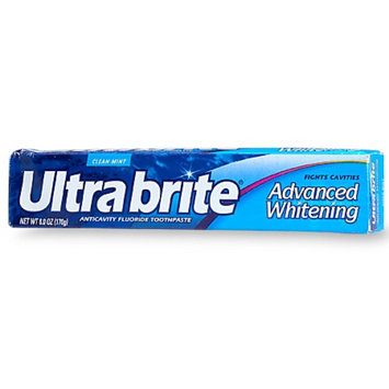 Ultra Brite Advanced Whitening Fluoride Toothpaste