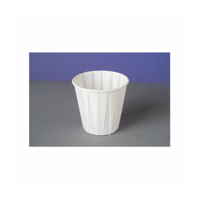 Genpak Paper Drinking Cups in White