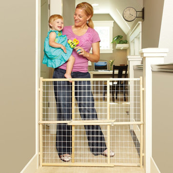 North States Extra-Wide Wire Mesh Gate (4618)