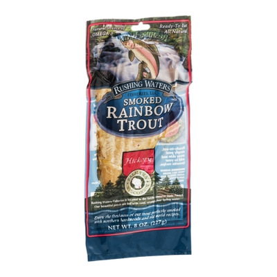 Rushing Waters Smoked Rainbow Trout Hickory