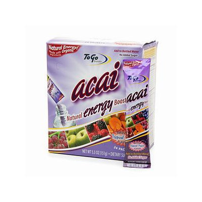 To Go Brands Acai Natural Energy Boost