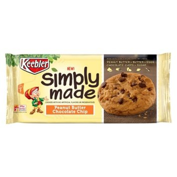 Keebler Simply Made Peanut Butter Chocolate Chip Cookies