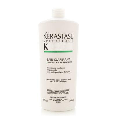 Kerastase Bain Clarifiant Shampoo, 34 Fluid Ounce - Rucci Inc - BainSatin134oz