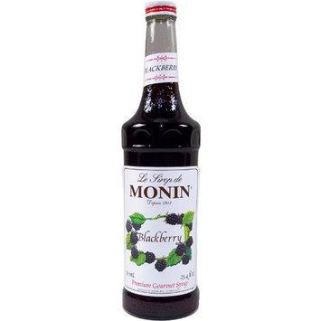 MONIN BLACKBERRY SYRUP, 750 ML Bottle