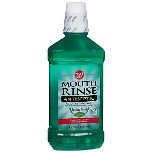 Walgreens Antiseptic Mouth Rinse