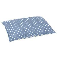 Happy Hounds Bosco Medium 30 by 42-Inch Dog Bed, Blue/White