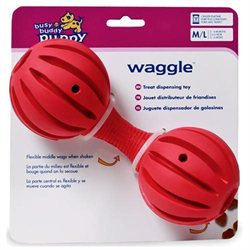 Premier Pet Products Busy Buddy Puppy Waggle Medium-large