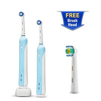 Oral-B PC1000-Dual + EB181 Professional Care 1000 Rechargable Toothbru