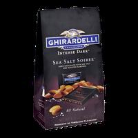 Ghirardelli Intense Dark Sea Salt Soiree and Roasted Almonds Chocolate
