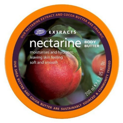 Boots Extracts Nectarine Body Butter - 6.7 oz