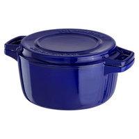 KitchenAid Professional Cast Iron Casserole - Blue (4 Qt.)