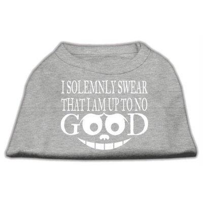 Ahi Up to No Good Screen Print Shirt Grey XXXL (20)