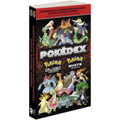 Prima Guides Pokemon Black & Pokemon White Versions: Official National Pokedex (Paperback)