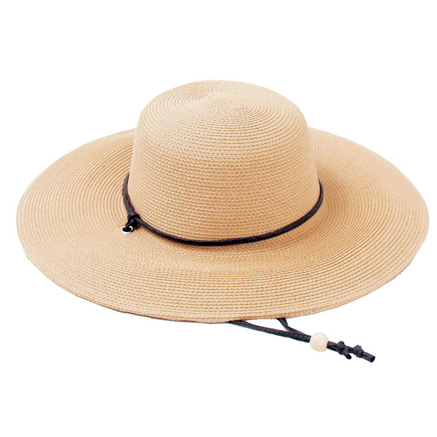 Sloggers SLOGGERS Light Brown Medium Wide Brim Medium Braided Hat