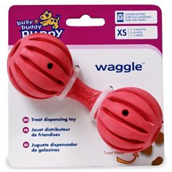 Premier Pet Products Busy Buddy Puppy Waggle Extra Small