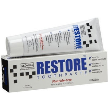 Dr. Collins Restore Toothpaste-4 oz (Quantity of 3)