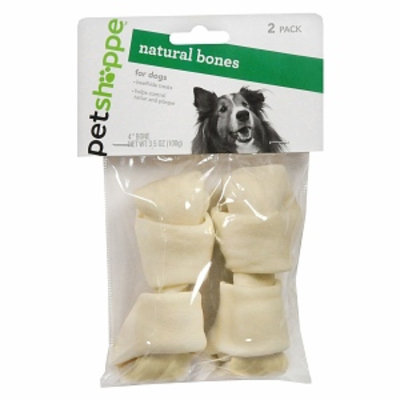 Pet Shoppe Natural Bones 2ea