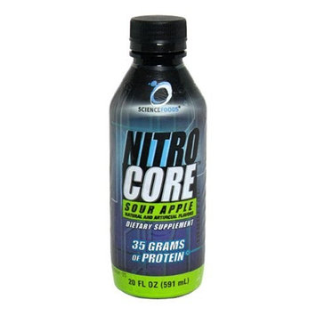 Science Foods Nitro Core, Sour Apple, 20 - 20 fl oz (591 ml) bottles