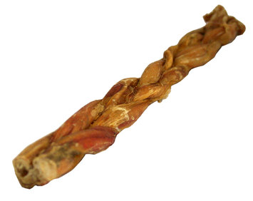 David Shaw Silverware Na Ltd Braided Bully Sticks for Dogs, 12