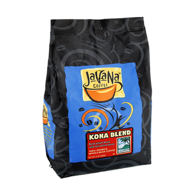 Javana Coffee Kona Blend Whole Bean Coffee