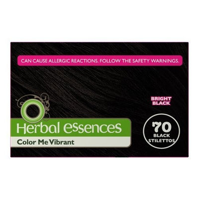 Herbal Essences Clairol Herbal Essence Color, 070 Black Stilettos-bright Black (Pack of 3)