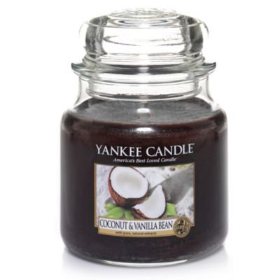 Yankee Candle Coconut & Vanilla Bean Medium Classic Candle Jar